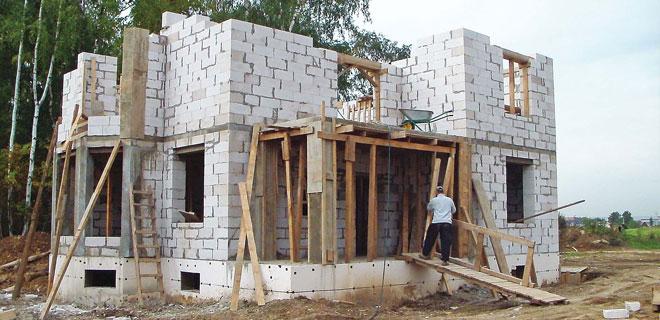 Строительство домов из пеноблоков в Заокском районе